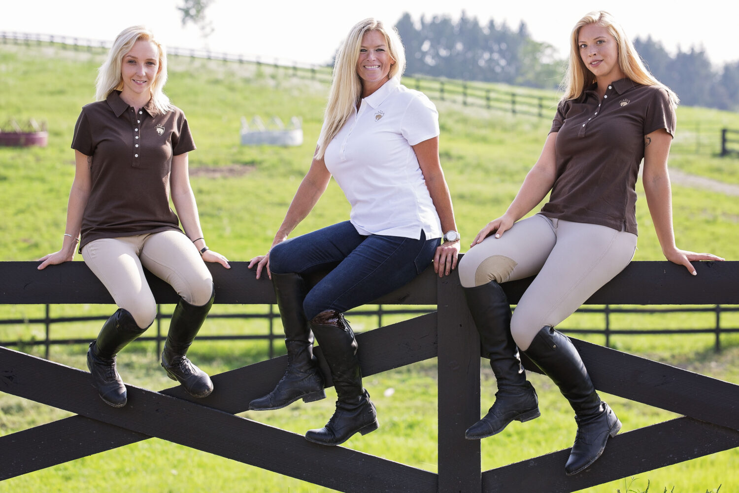 Short Sleeve Equestrian Riding Tops