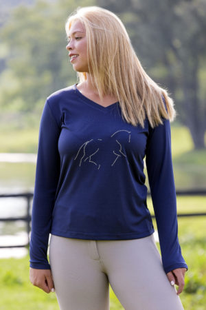 Dressage Performance Long Sleeve Tee
