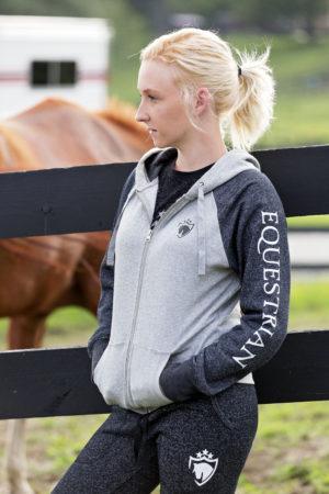 Equestrian Full Zip Hoodie